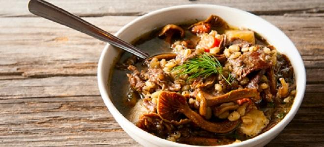 Суп из домашней утки