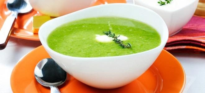 Суп из кабачков - вегетарианский рецепт