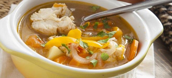 Рецепт супа из ледяной рыбы