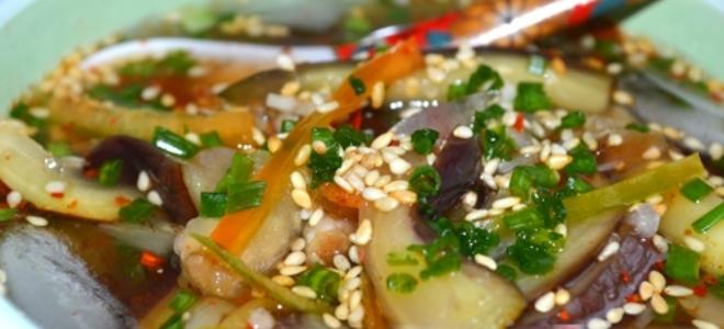 суп по корейски с баклажанами