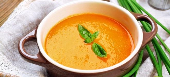 суп пюре из печеных овощей