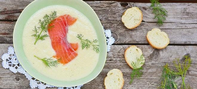 суп пюре из рыбы