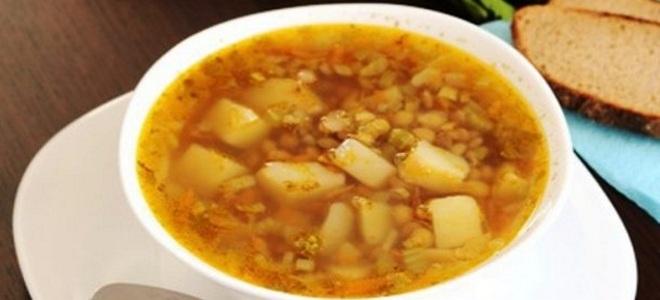 суп с чечевицей и картофелем рецепт