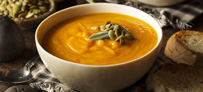 Суп с тыквой и картофелем