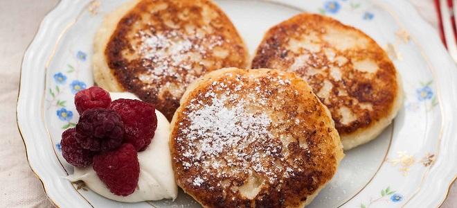 Сырники на сковороде классический рецепт