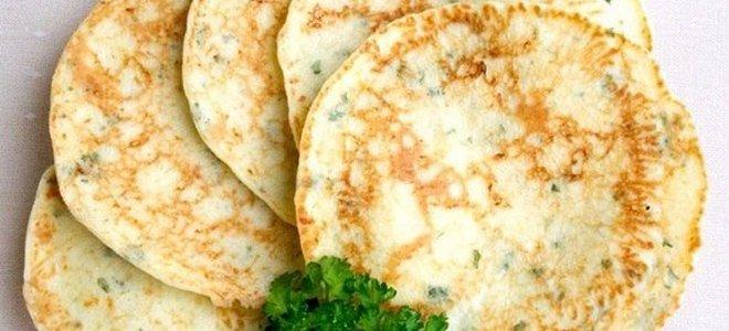 сырные лепешки на молоке на сковороде
