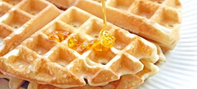 Рецепт бельгийских вафель для электровафельницы