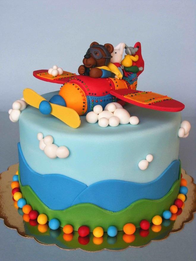 Детские торты для мальчиков из мастики