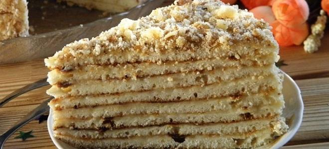 Торт на сковороде со сгущенкой и сметаной рецепт