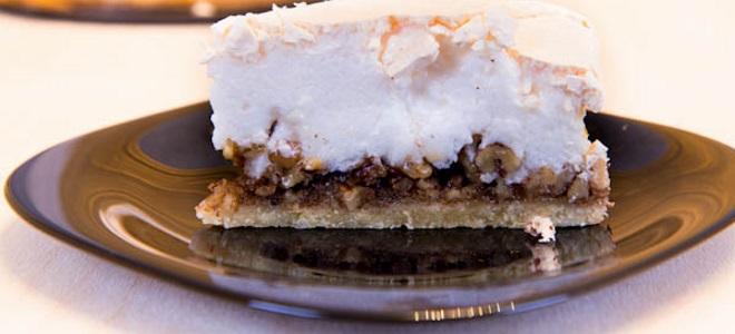 Ореховый торт с безе рецепты