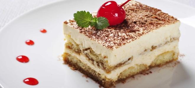 Пирожное тирамису рецепт и