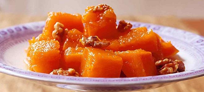 Турецкий десерт из тыквы