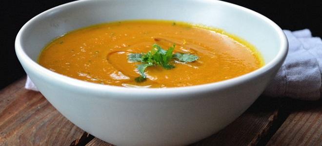 Турецкий гороховый суп-пюре