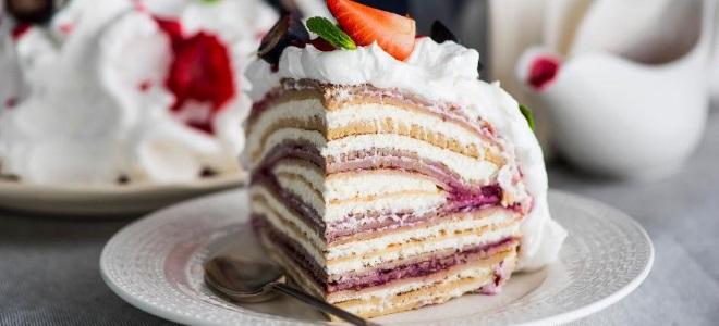 Крем из сливок для украшения торта рецепт