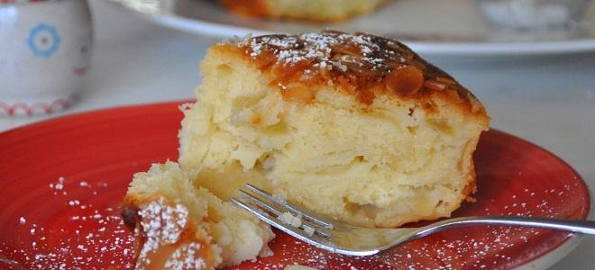 Рецепт творожных кексов с яблоками
