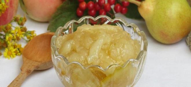 Варенье из яблок с грушами рецепты