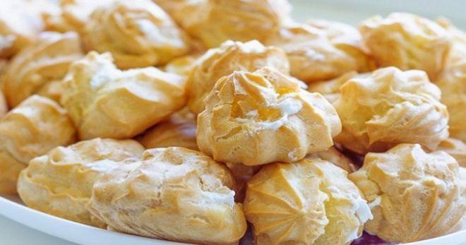 Как приготовить крем для заварных пирожных