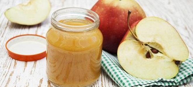 Яблочное пюре для детей на зиму заготовка