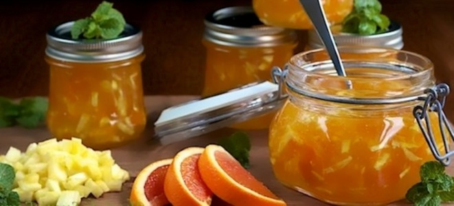 яблочное повидло с апельсинами рецепт
