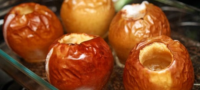 яблоки запеченные с медом и корицей