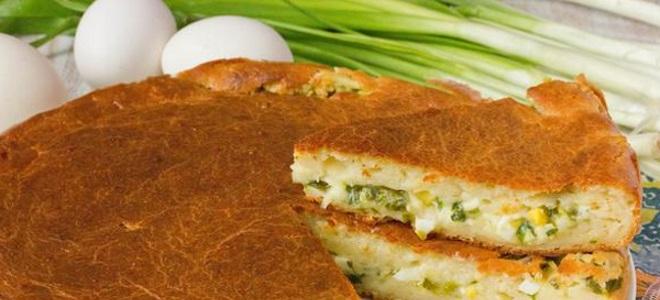 Заливной пирог с сыром