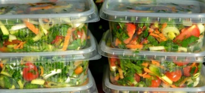 Заморозка овощей ассорти на зиму