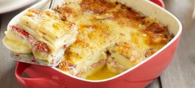 Вкусные рецепты запеканки с картофелем