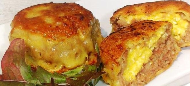 Зразы с куриным фаршем рецепт с фото
