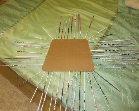 4. Плетеная мебель своими руками