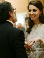 Елизавета II, Кейт Миддлтон и принц Уильям устроили прием для знаменитостей Индии