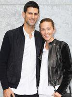 У сербского теннисиста Новака Джоковича родилась дочь