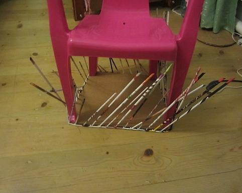 5. Плетеная мебель своими руками