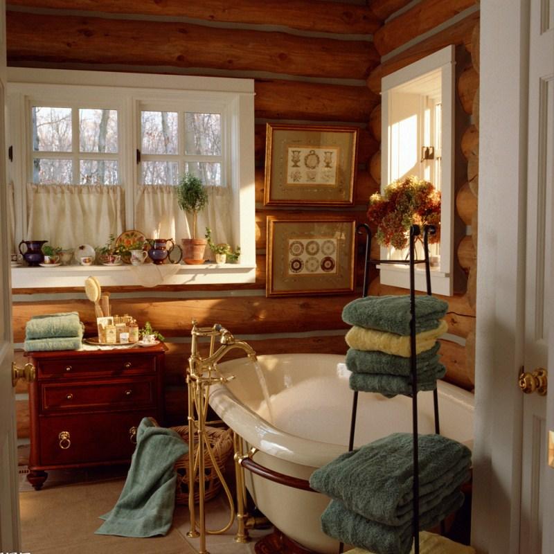 Комната в стиле кантри фото