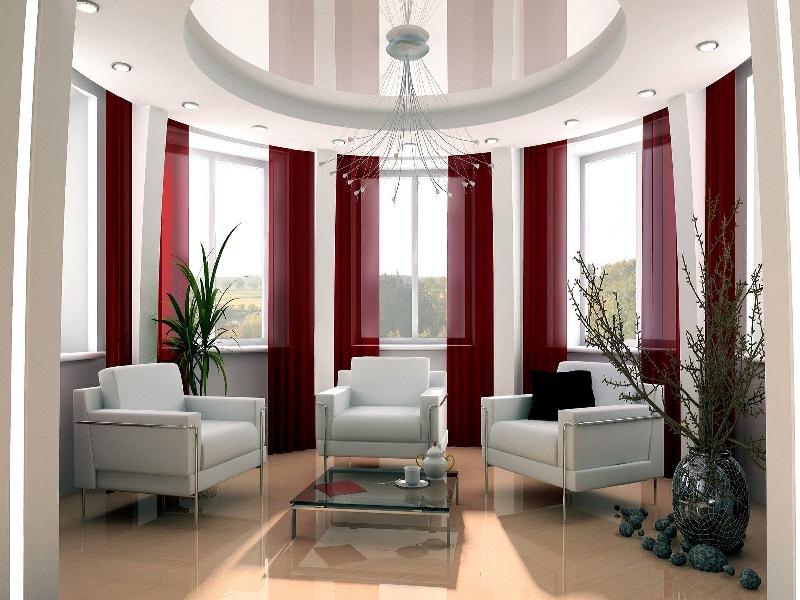 Дизайн эркерных комнат фото