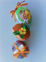 Пасхальные яйца из ткани - поделки к празднику
