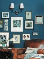 Как стильно оформить стену фотографиями?