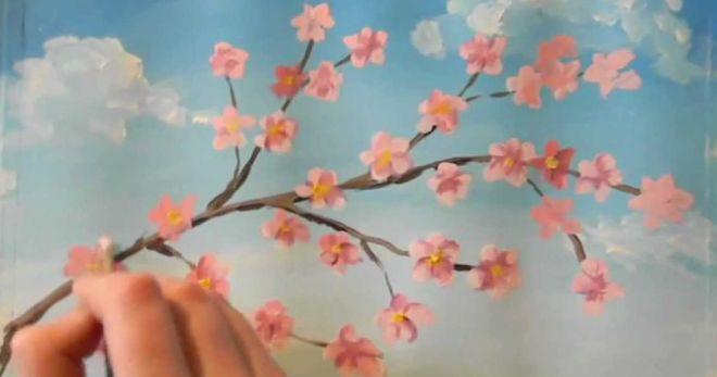 Детские рисунки на тему «Весна»
