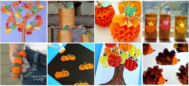 поделки дары осени для детского сада