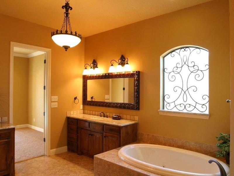 Дизайн освещения в ванной комнате