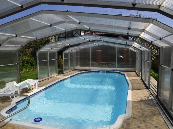 бассейн крытый на даче своими руками фото