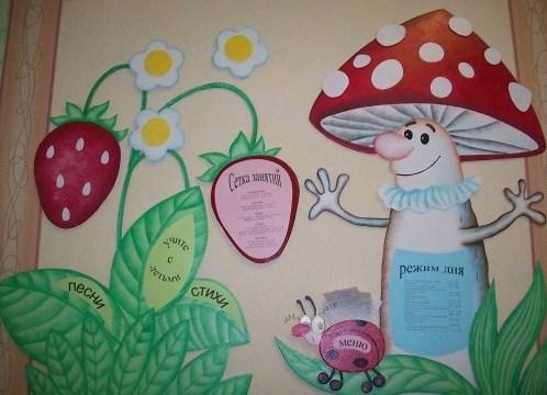 Как сделать родительский уголок в детском саду своими руками