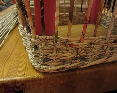 9. Плетеная мебель своими руками