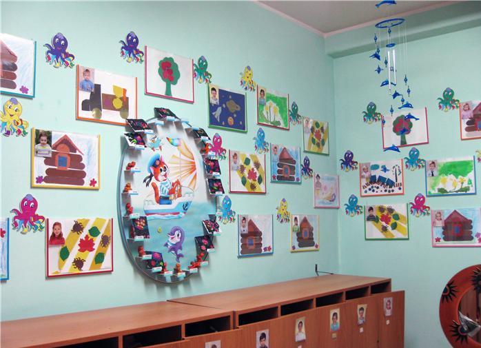 Оформление групп в детском саду своими руками спальня