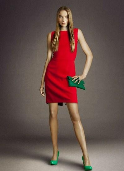 Подобрать туфли к красному платью фото
