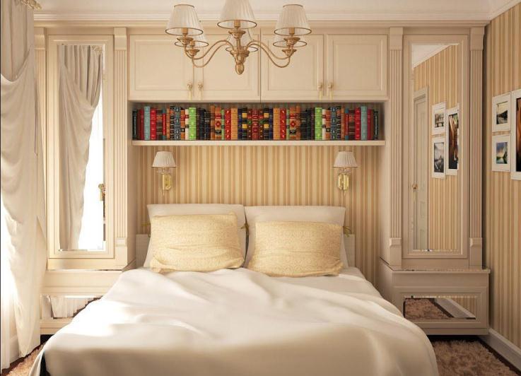 Дизайн маленькой спальни 12 кв м в хрущевке
