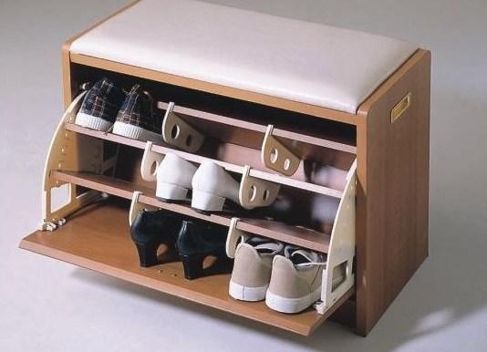 Банкетку с ящиком для хранения обуви