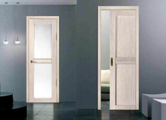 Белёный дуб межкомнатные двери в интерьере фото