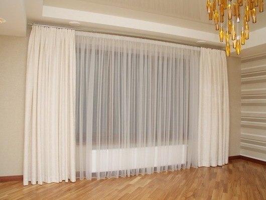 Как отстирать белые шторы?