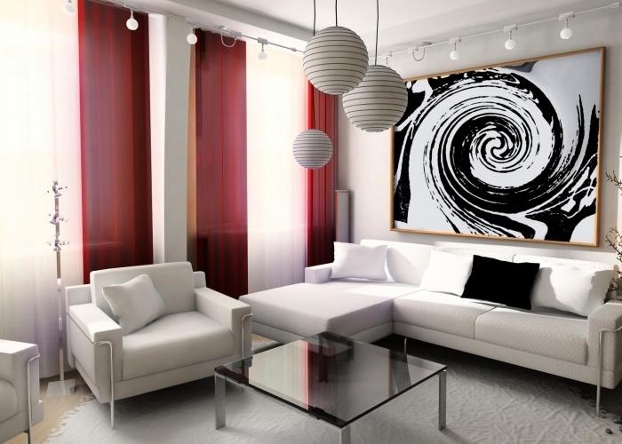 Интересный дизайн интерьера дома