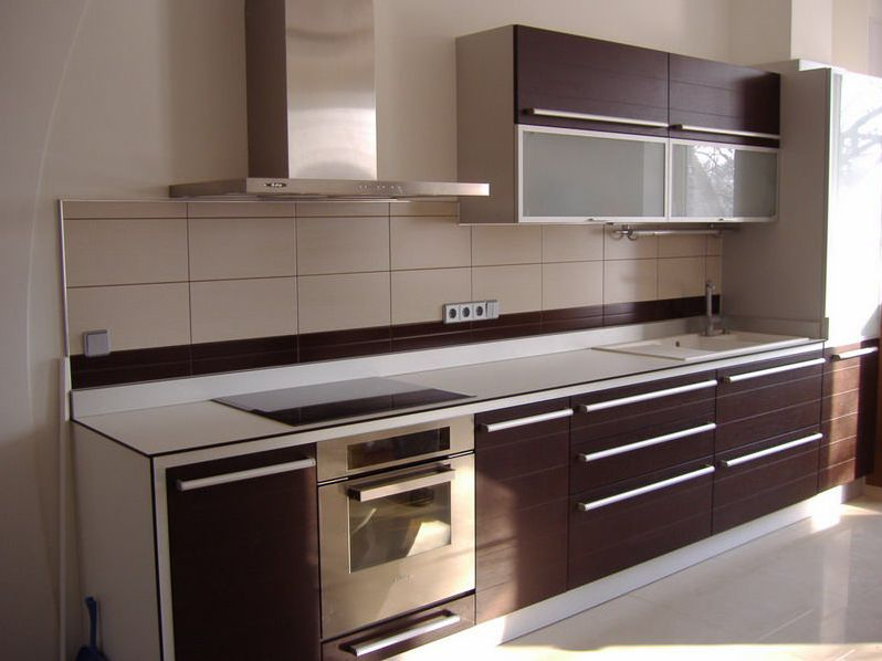 Кухня венге в интерьере